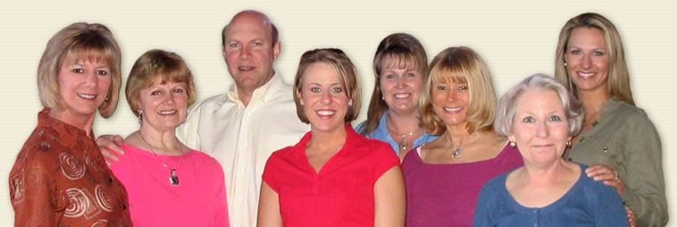 Dr. Gary Leonard With His Dental Practice Staff